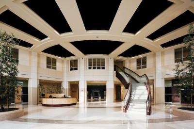 installation de plafond suspendu acoustique projex. Black Bedroom Furniture Sets. Home Design Ideas