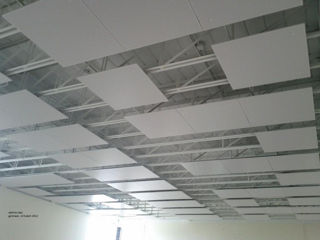 Plafond du gymnase Capz à St-Hubert
